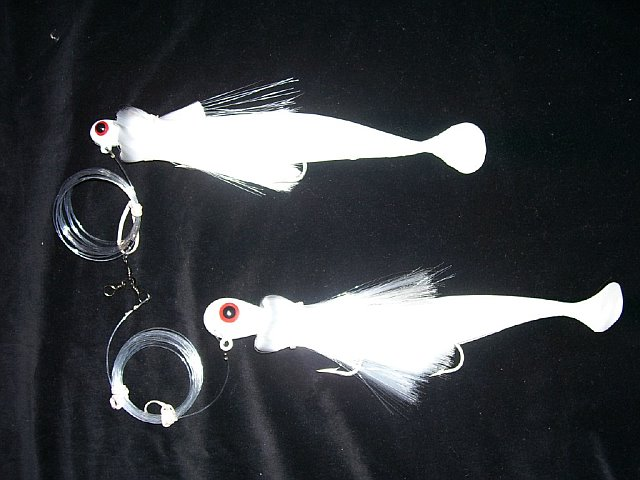 Parachute Tandem Rig/4oz. & 9oz. B-Eye Total Weight 13 oz.