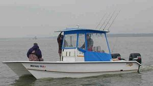 Fishing the Chesapeake Bay with Captain Tom Hughes