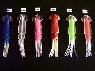 "7"" Squid Teaser Chain WITH Lure Bag"